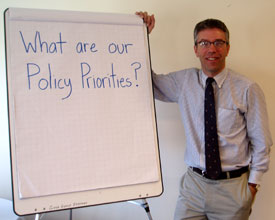 Craig - policy priorities